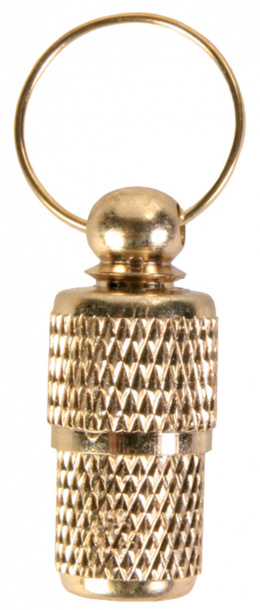 Медальон для собак - адресник, золотой