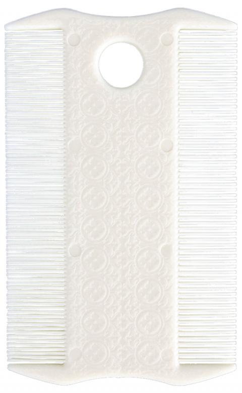 Ķemme blusu izķemēšanai - Flea and Lice Comb, Double Sided, 9cm