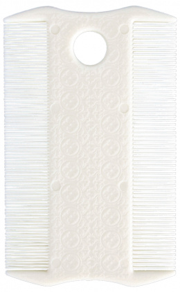 Ķemme blusu izķemēšanai - Flea and Lice Comb, Double Sided