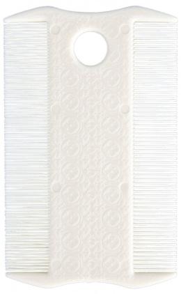 Расческа для вычеса блох - Flea and Lice Comb, Double Sided, 9cm