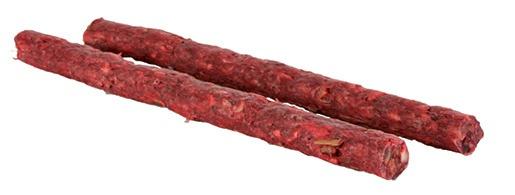 Gardums suņiem - TRIXIE Kociņu komplekts, sarkans, 25 gab.