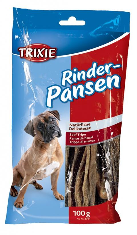 Gardums suņiem - TRIXIE Beef Tripe, Dried, 100 g title=