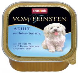 Konservi suņiem - Vom Feinsten Mare, ar vistas gaļu un saidu, 150 gr.