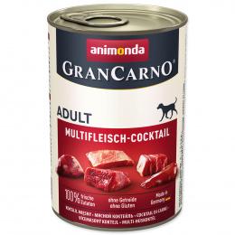 Konservi suņiem - GranCarno Adult Multi Meat Cocktail, 400 g
