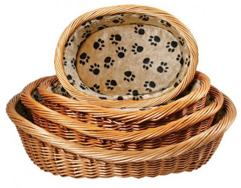 Guļvieta suņiem - Dog Basket, 70cm, bēša krāsa