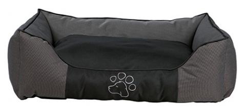 Guļvieta suņiem - Dante Bed, pelēka/black, 40*30cm title=