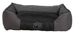 Guļvieta suņiem - Dante Bed, pelēka/black, 40*30cm