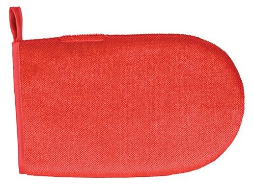 Перчатка для уборки шерсти – TRIXIE Lint glove, double-sided, 25 cm, Red