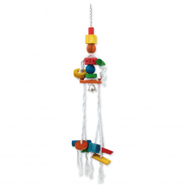 Игрушка для птиц - BIRD JEWEL Веревочная медуза 70 cm