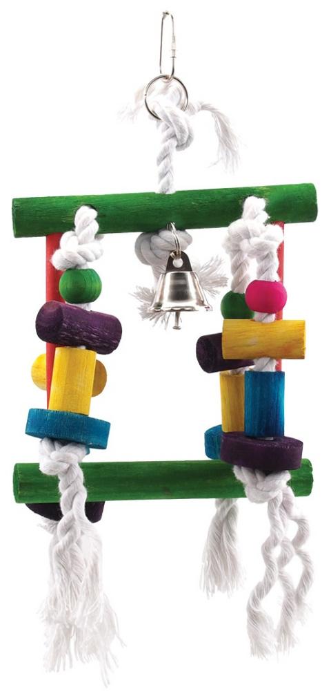 Игрушка для птиц - BIRD JEWEL Канатный лабиринт 23 cm