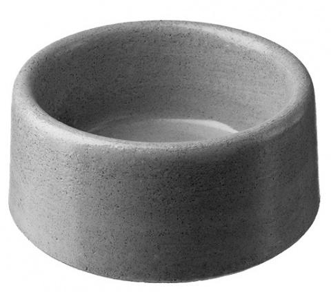 Bļoda suņiem – The concrete Bowl round BE-MI (26 cm, 4 L) title=