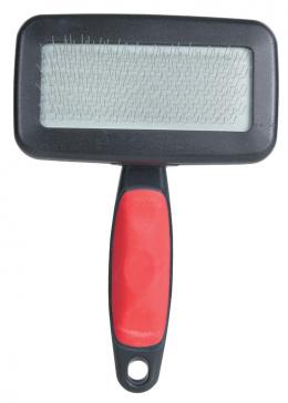 Расческа для собак с гребнем, пластмасса - Soft Brush, 10*13cm