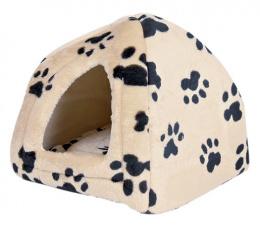 Guļvieta kaķiem - 'Sheila' Cuddly Cave, bēša krāsa, 40*35*40cm