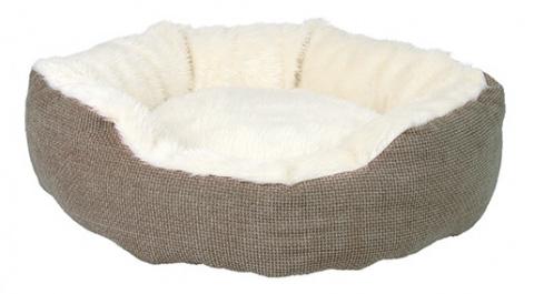 Guļvieta kaķiem - Lit Yuma 45cm brun/blanc title=