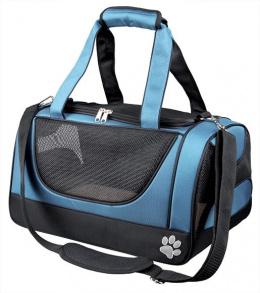 Сумка для транспортировки животных - Jacob Carrier, 27*23*42cm, черный/синий