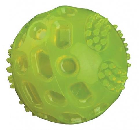 Rotaļlieta suņiem - Flashing Ball, thermoplastic Rubber (TPR), 5,5cm title=