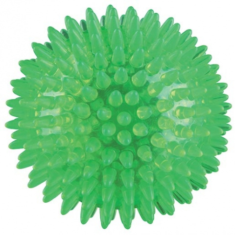 Rotaļlieta suņiem – TRIXIE Hedgehog Ball, thermoplastic Rubber (TPR), 8 cm title=