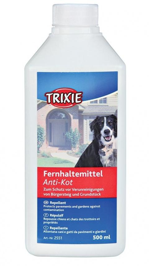 Līdzeklis dzīvnieku atbaidīšanai – TRIXIE Anti-Kot Repellent, 500 ml title=