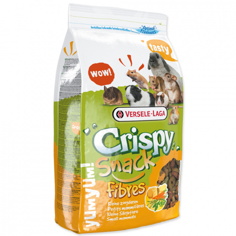 Корм для грызунов – Versele-Laga Crispy Snack Fibers, 650 г title=