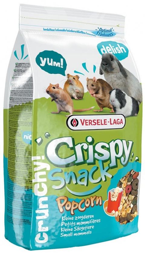 Papildbarība grauzējiem – Versele-Laga Crispy Snack Popcorn, 650 g title=