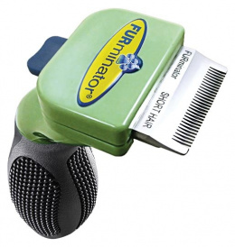 Расческа для собак - FURminator deShedding tool, hair short, XS