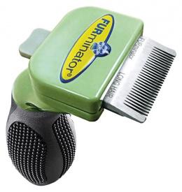 Расческа для собак - FURminator deShedding tool, hair long, XS