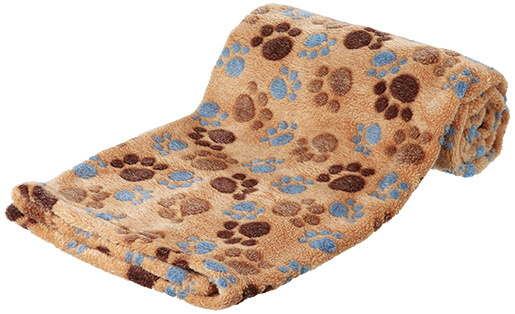 Спальное место для собак – TRIXIE Laslo Blanket, 75 x 50 см, Beige