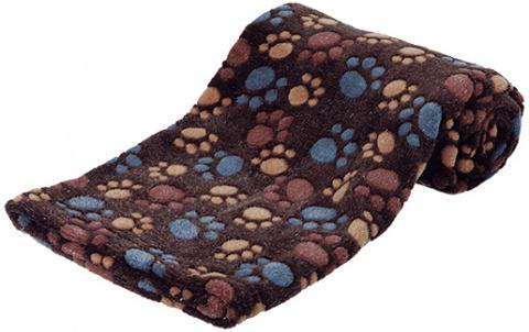 Спальное место для собак - Laslo Blanket, 75*50cm, темно коричневый title=