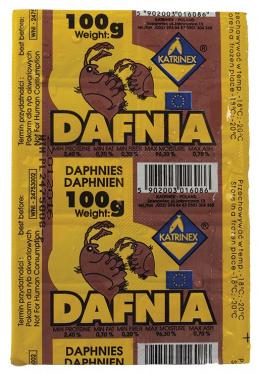 Saldēta barība zivīm - Katrinex Daphnia 100g