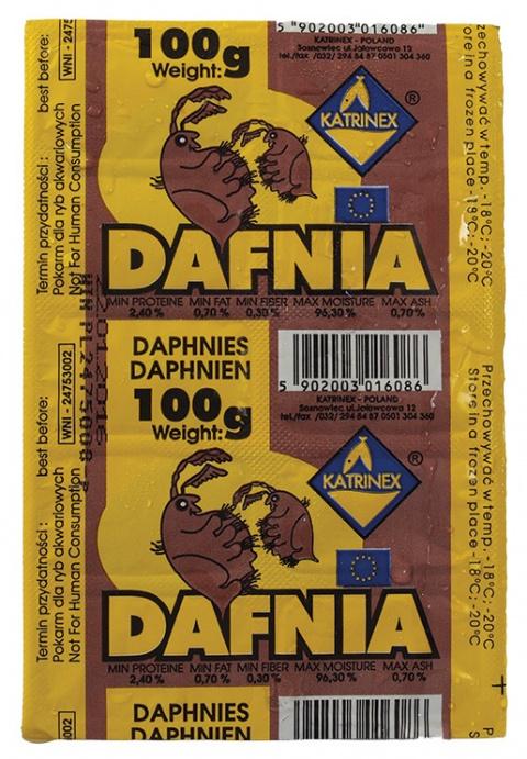 Замороженный корм для рыбок - Katrinex Daphnia 100g title=