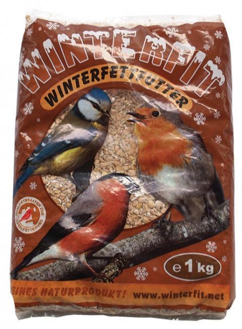 Корм для диких птиц - Agros Winterfit 1kg title=