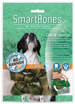 Gardums suņiem - SmartBones Chew+Dental mini, 8gb.