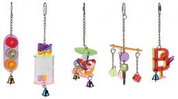 Игрушка для птиц - Акриловая игрушка для птиц 8*8*12 cm