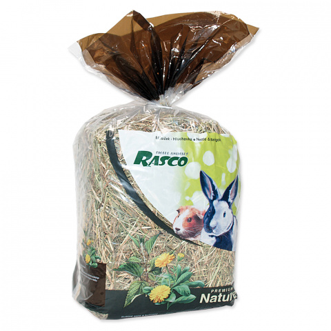 Сено - Rasco Nature крапива и календула, 500 г