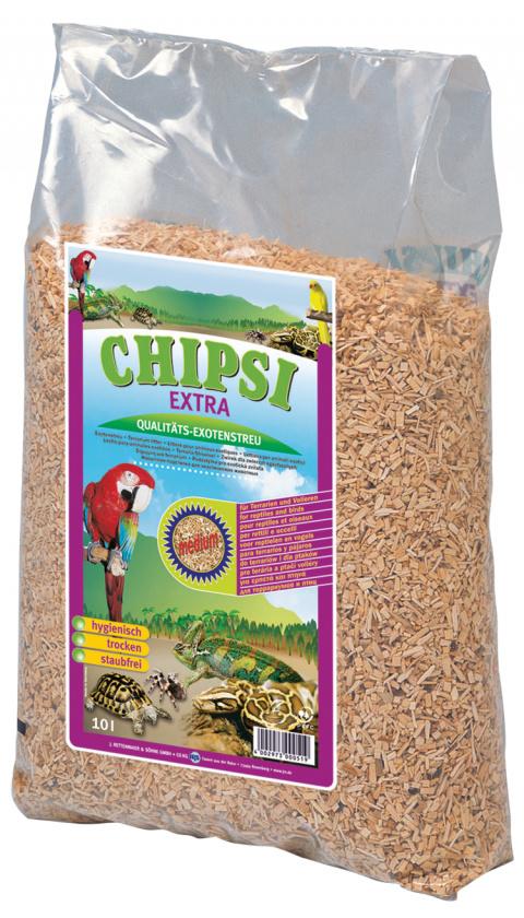 Наполнитель для клеток животных - JRS Chipsi Extra Medium, 2.8 кг title=