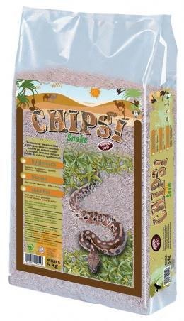 Pakaiši terārijam - JRS Chipsi Snake 5 kg