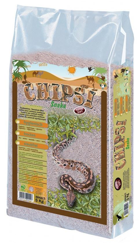 Торфяной субстрат для террариума - JRS Chipsi Snake 5 кг title=