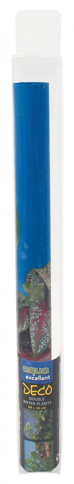 Фон для аквариума - Задний фон - Растения двухсторонний 100*50cm