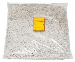 Грунт для аквариума - камушки 5 (белый) 10kg
