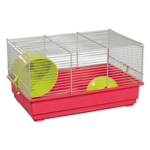 Клетка для хомяков - Small Animal Richard 39*25,5*22 см (розовый/зеленый) title=