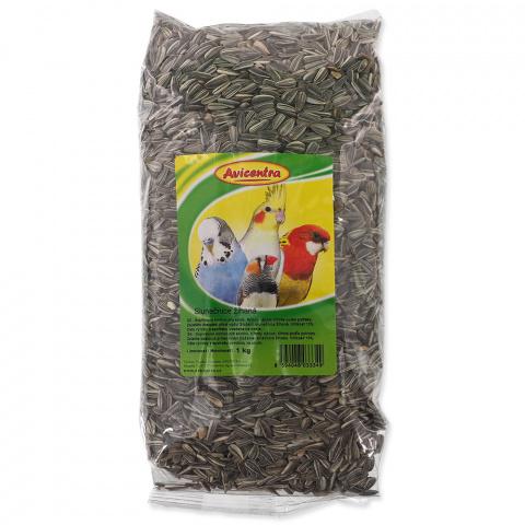 Корм для птиц - Avicentra, семена подсолнечника, 1 кг title=