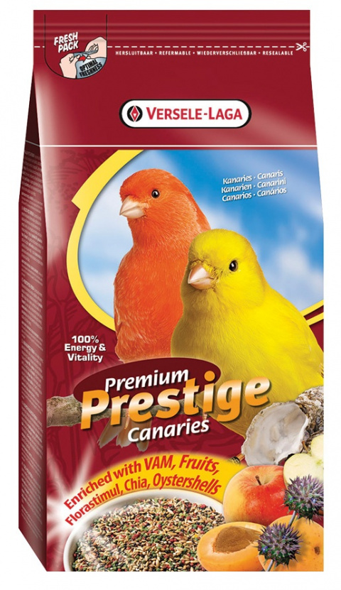 Barība putniem - Versele - Laga Prestige Premium Canary,  1 kg