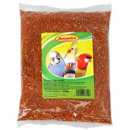 Корм для птиц - Avicentra, красные зерна проса, 500 г