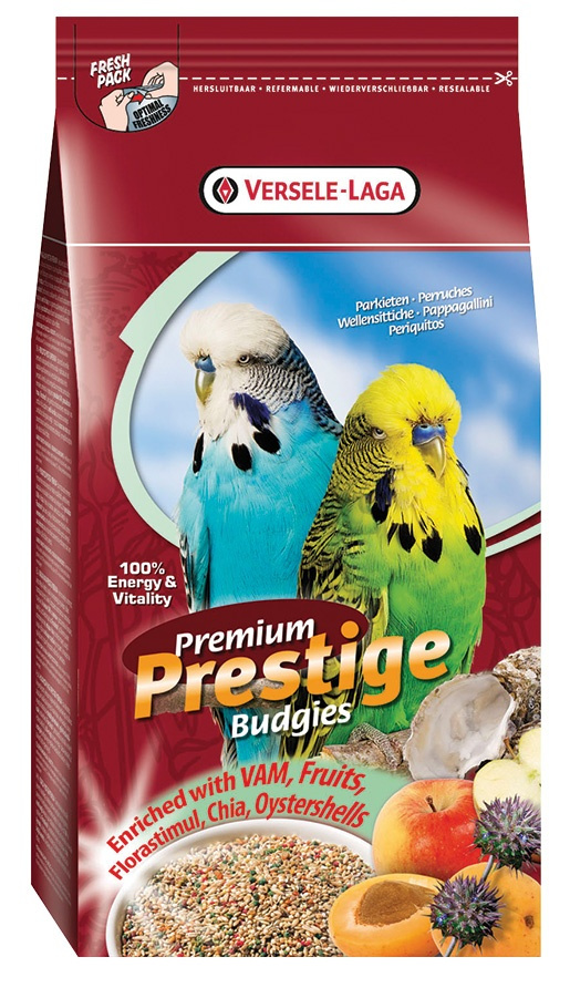 Корм для птиц - Versele-Laga Prestige Premium Budgies, 1 кг