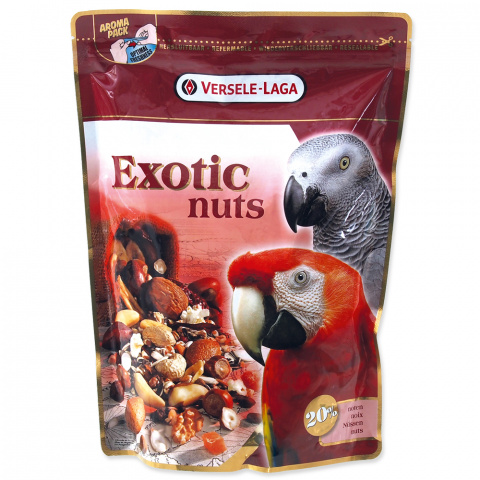Gardums putniem - Prestige Exotic Nut Mix, 750 g title=