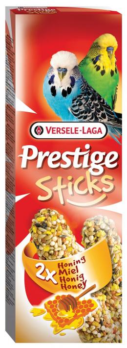 Gardums putniem – Versele-Laga Prestige 2 x Sticks Budgies Honey, 60 g