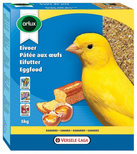 Дополнительный корм для канареек - Versele Laga, Orlux Eggfood dry for Canaries, 1кг