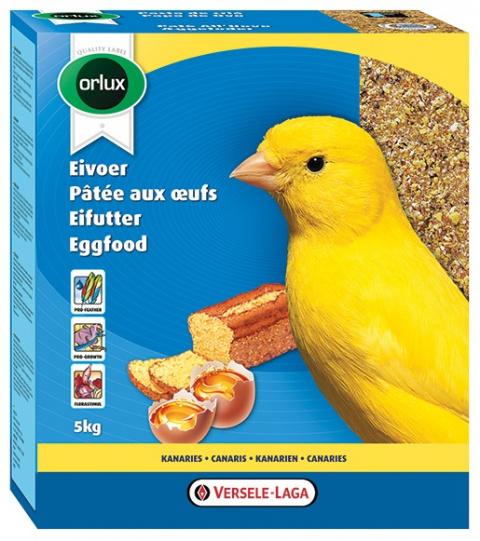 Papildbarība kanārijiem - Versele Laga, Orlux Eggfood dry for Canaries, 1kg title=