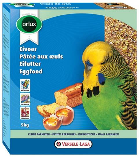 Дополнительный корм для волнистых попугаев - Versele Laga Orlux Eggfood dry for Budgies, 1 кг title=