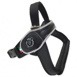 Шлейка - TRE PONTI отражающая шлейка для собак, черный, 30-40kg